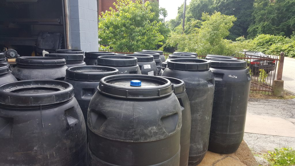 Rain Barrels Pittsburgh